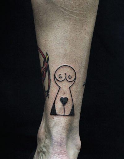 stencil tattoo (3)