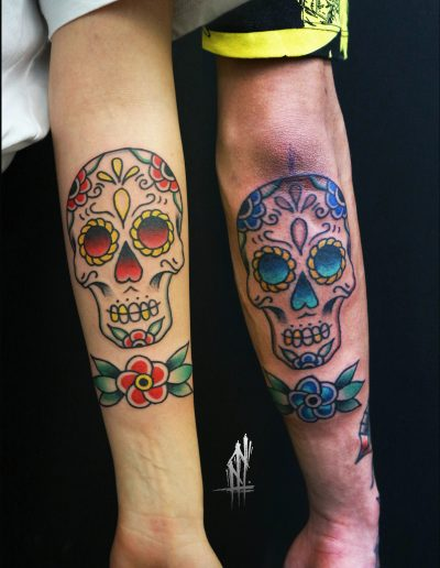 sugarskull tattoo