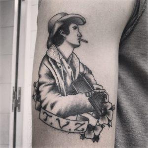 black and white Dildo Tattoo & Piercing Studio Athens