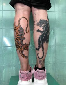 tiger tattoo Αθηνα