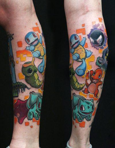 pokemon full color tattoo athens dildo πόκεμον τατουάζ αθήνα