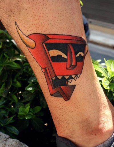 futurama tattoo τατουαζ αθηνα