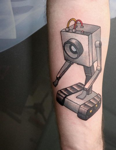 rick and morty butter robot tattoo αθηνα